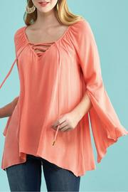 Kay Celine Bell Sleeve Top - Product Mini Image