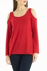 Kay Celine Cold Shoulder Top - Product Mini Image