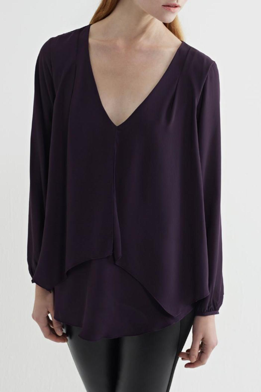 Kay Celine Double Layer Blouse - Main Image