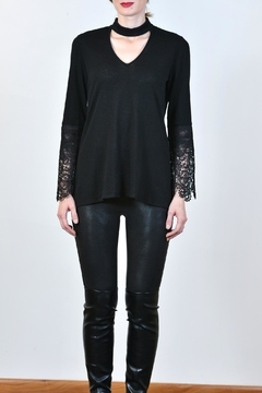 Shoptiques Product: Lace Arm Top