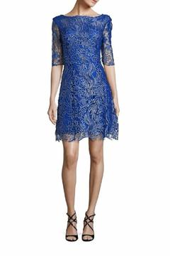 Kay Unger Floral Lace Dress - Product List Image