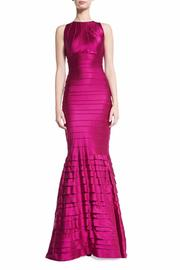 Kay Unger New York Satin Mermaid Gown - Product Mini Image
