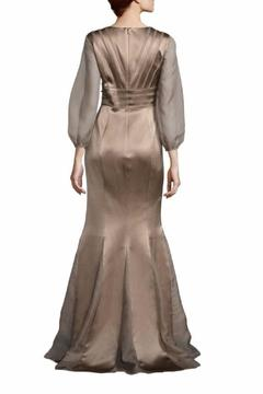 Kay Unger New York Sheer Sleeve Gown - Alternate List Image