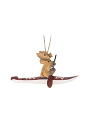 Abbott Collection Kayaking Moose Ornament - Product Mini Image
