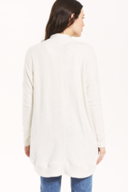 z supply Kaye Feather Cardigan - Back cropped