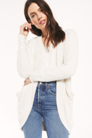 z supply Kaye Feather Cardigan - Front cropped