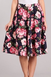 Chris & Carol Kayla Floral Skirt - Product Mini Image