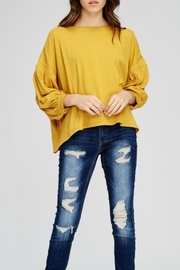 Kayla's Armoire Yellow Top - Product Mini Image