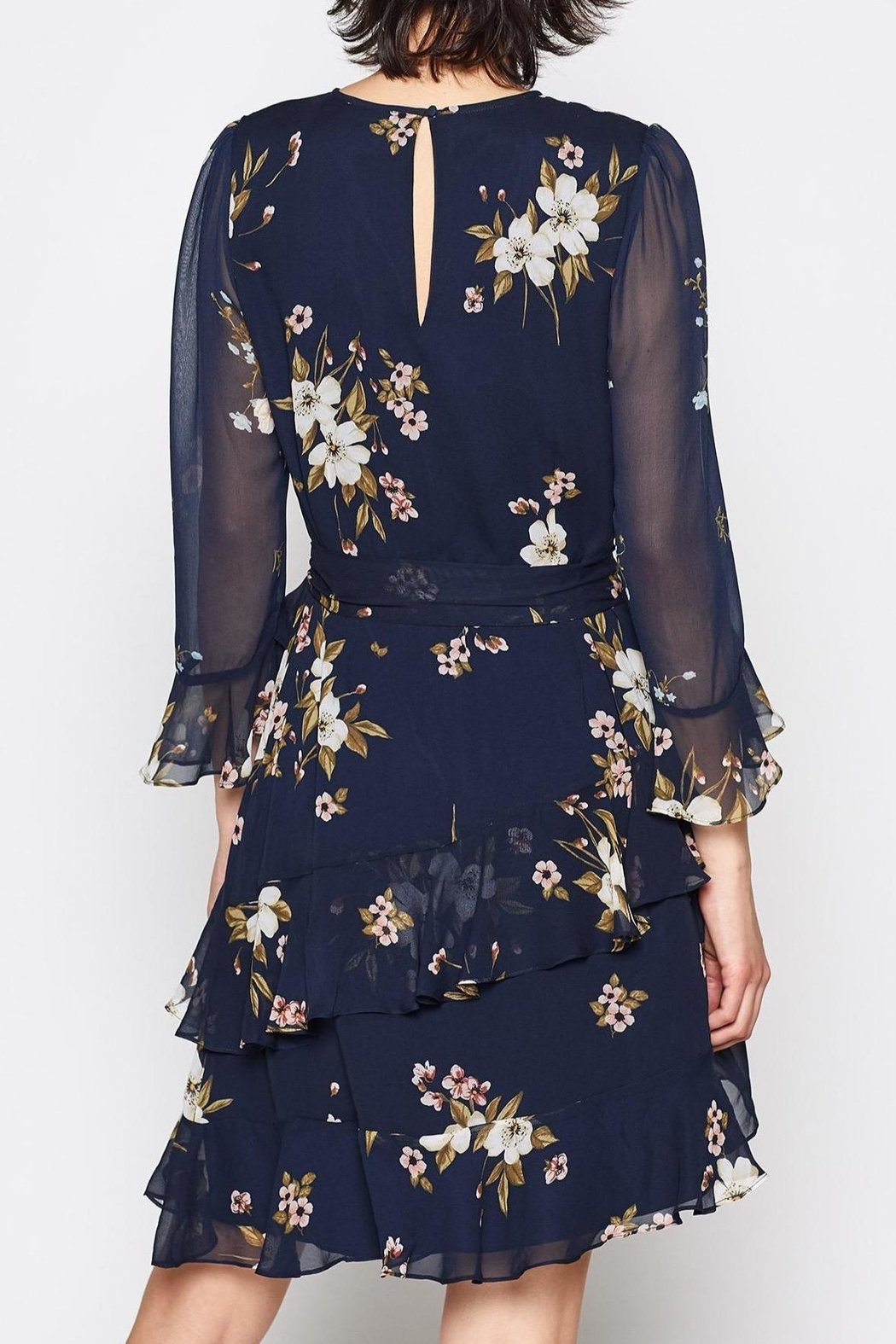 Joie Kayne Silk Dress - Front Full Image
