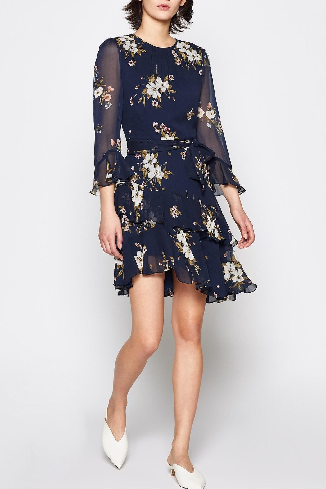 Joie Kayne Silk Dress - Main Image