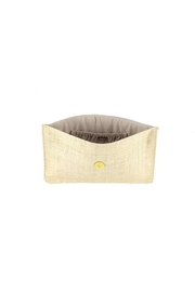 Kayu Capri Straw Clutch - Front full body