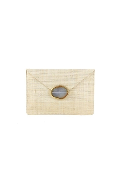 Shoptiques Product: Capri Straw Clutch