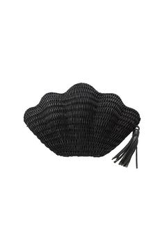 Shoptiques Product: Black Seashell Clutch