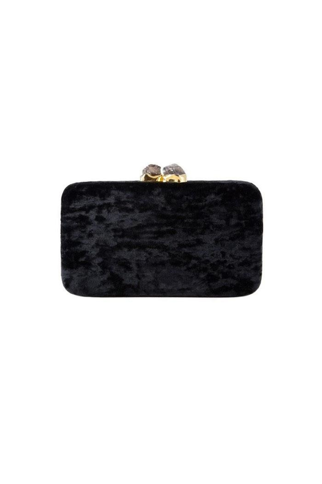 Kayu Margaux Black Clutch - Main Image