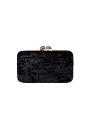 Kayu Margaux Black Clutch - Front cropped