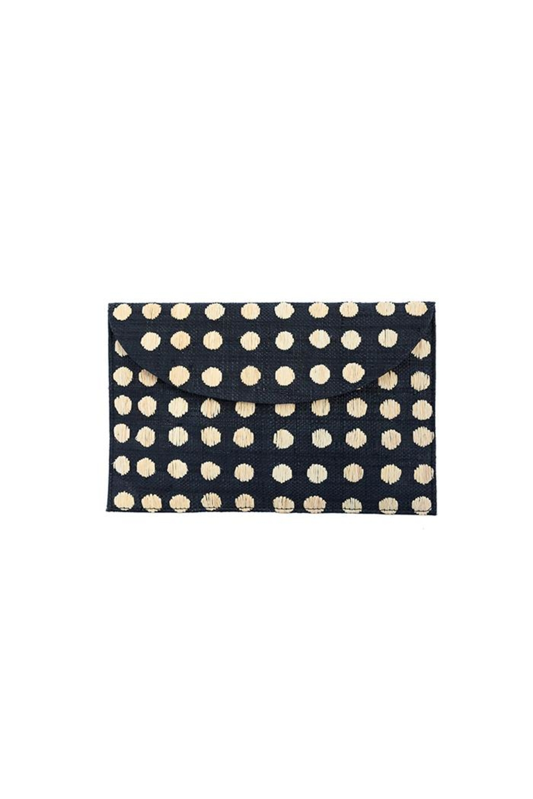 Kayu Tulum Black Clutch - Front Cropped Image