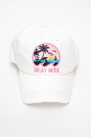 KBETHOS Vacay Mode Cap - Front cropped
