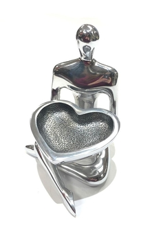 Inspired Generations Kc Heart-Dish Holder - Product List Image