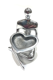 Inspired Generations Kc Heart-Dish Holder - Product Mini Image