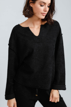 Brave and True Keach Long Sleeve Top - Product List Image