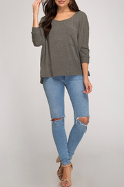 She+Sky Keely Top - Front cropped