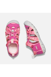 Keen Big Kids Seacamp II CNX in Very Berry/Pink Carnation - Side cropped