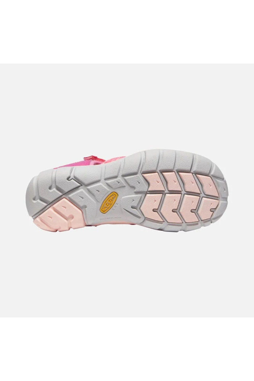 Keen Big Kids Seacamp II CNX in Very Berry/Pink Carnation - Back Cropped Image