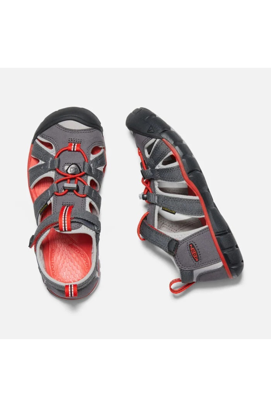 Keen Big Kids Seacamp II CNX Magnet/Drizzle - Side Cropped Image