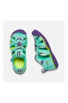 Keen Children's Seacamp II CNX in Cockatoo/Royal Purple - Alternate List Image