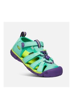 Keen Children's Seacamp II CNX in Cockatoo/Royal Purple - Product List Image