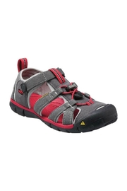 Keen Seacamp II in Magnet Red - Front cropped