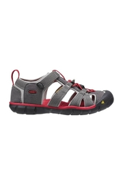 Keen Seacamp II in Magnet Red - Front full body