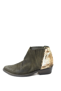 Shoptiques Product: Olive Pointed Booties