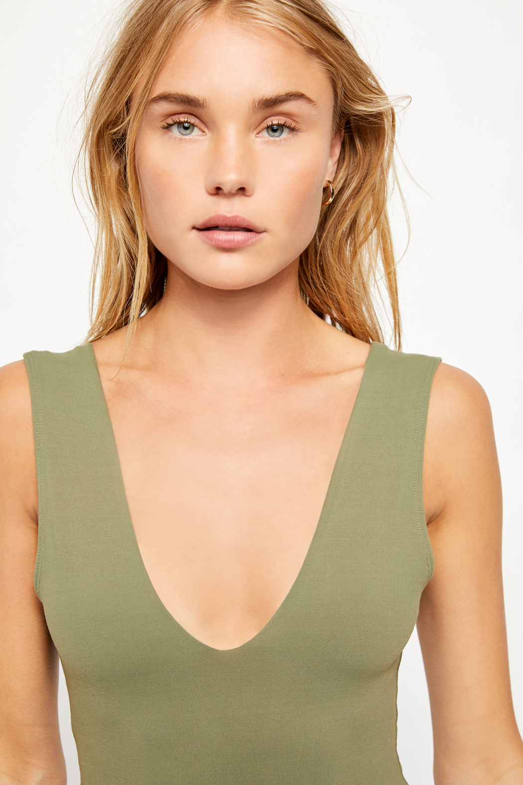 Free People Keep It Sleek Bodysuit - Side Cropped Image