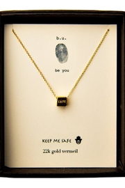b.u. Jewelry Keep-Me-Safe Necklace - Product Mini Image