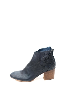 Shoptiques Product: Navy Woven Ankle Boot