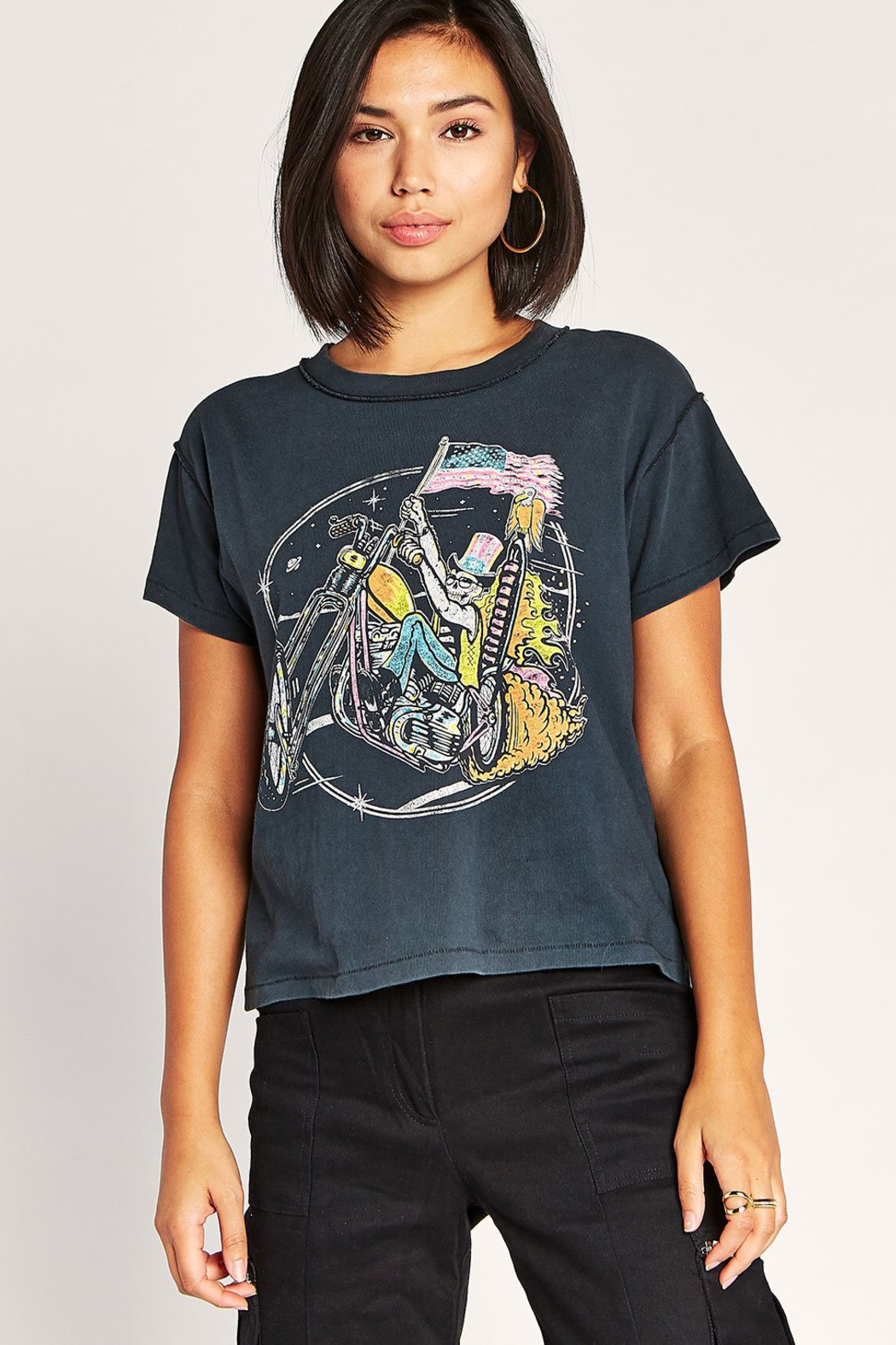 Daydreamer Keep on Rollin Tee - Front Full Image