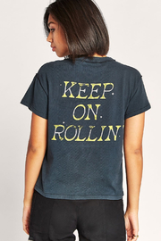 Daydreamer Keep on Rollin Tee - Side cropped
