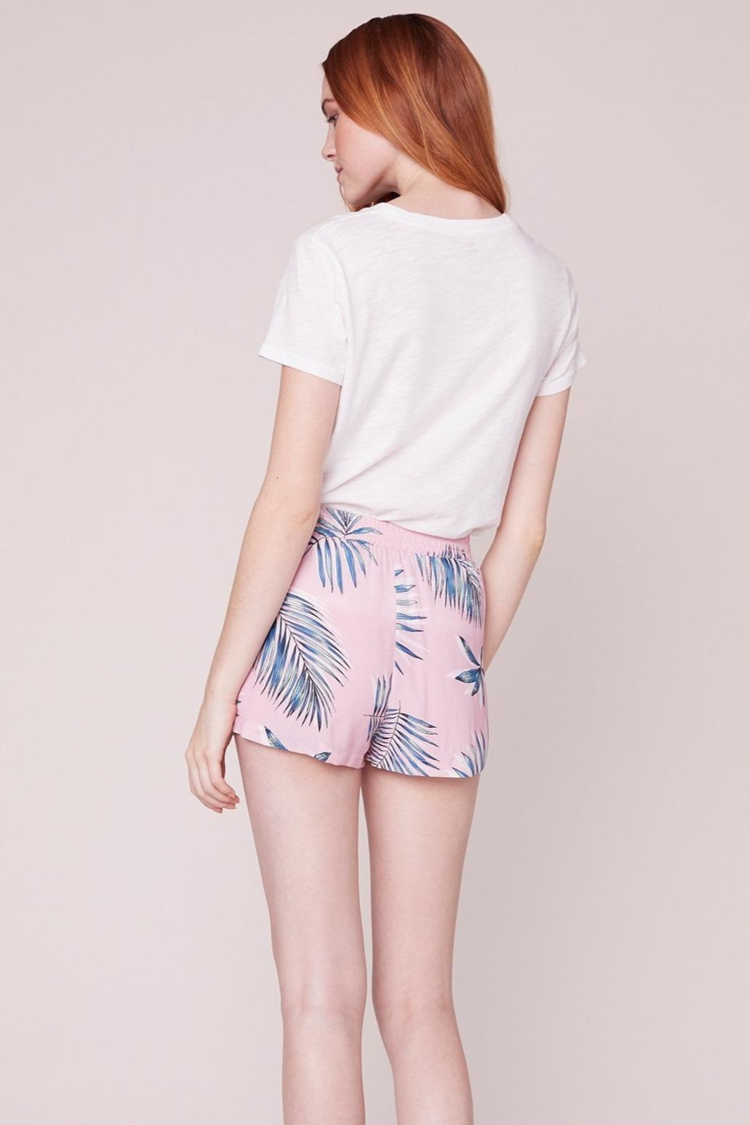 BB Dakota Keep Palm Shorts - Side Cropped Image