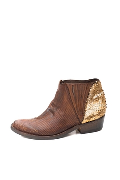 Shoptiques Product: Brown Pointed Booties