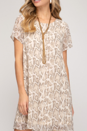 She and Sky Keeping It Trendy dress - Product Mini Image