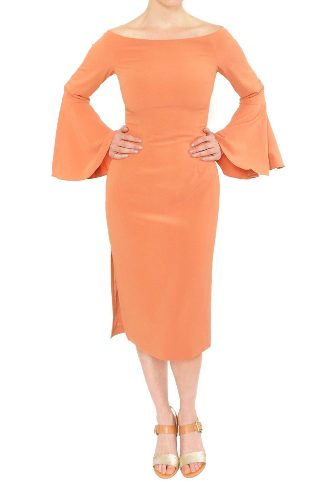 Keepsake Coral Flare Dress - Main Image