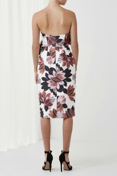 Keepsake Strapless Floral Print Dress - Alternate List Image