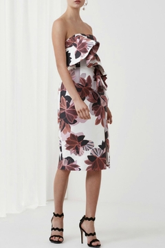 Keepsake Strapless Floral Print Dress - Product List Image