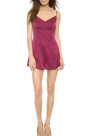 Keepsake None-The-Wiser Plum Playsuit - Product Mini Image