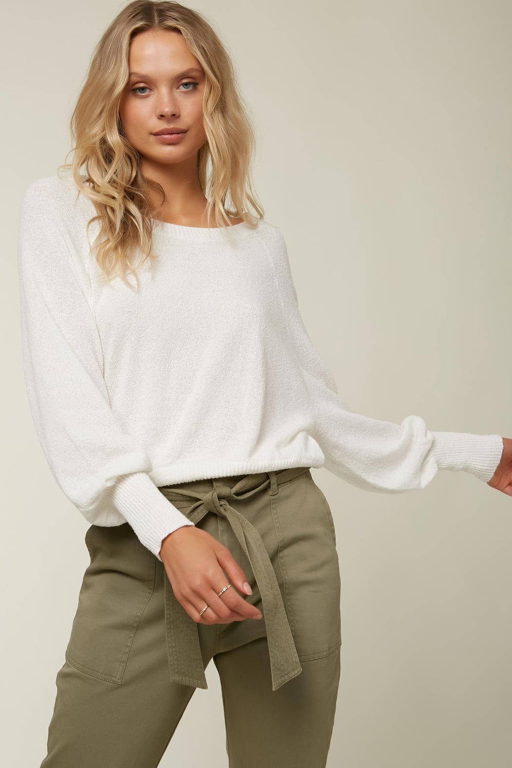 O'Neill Keiki Knit Pullover - Back Cropped Image