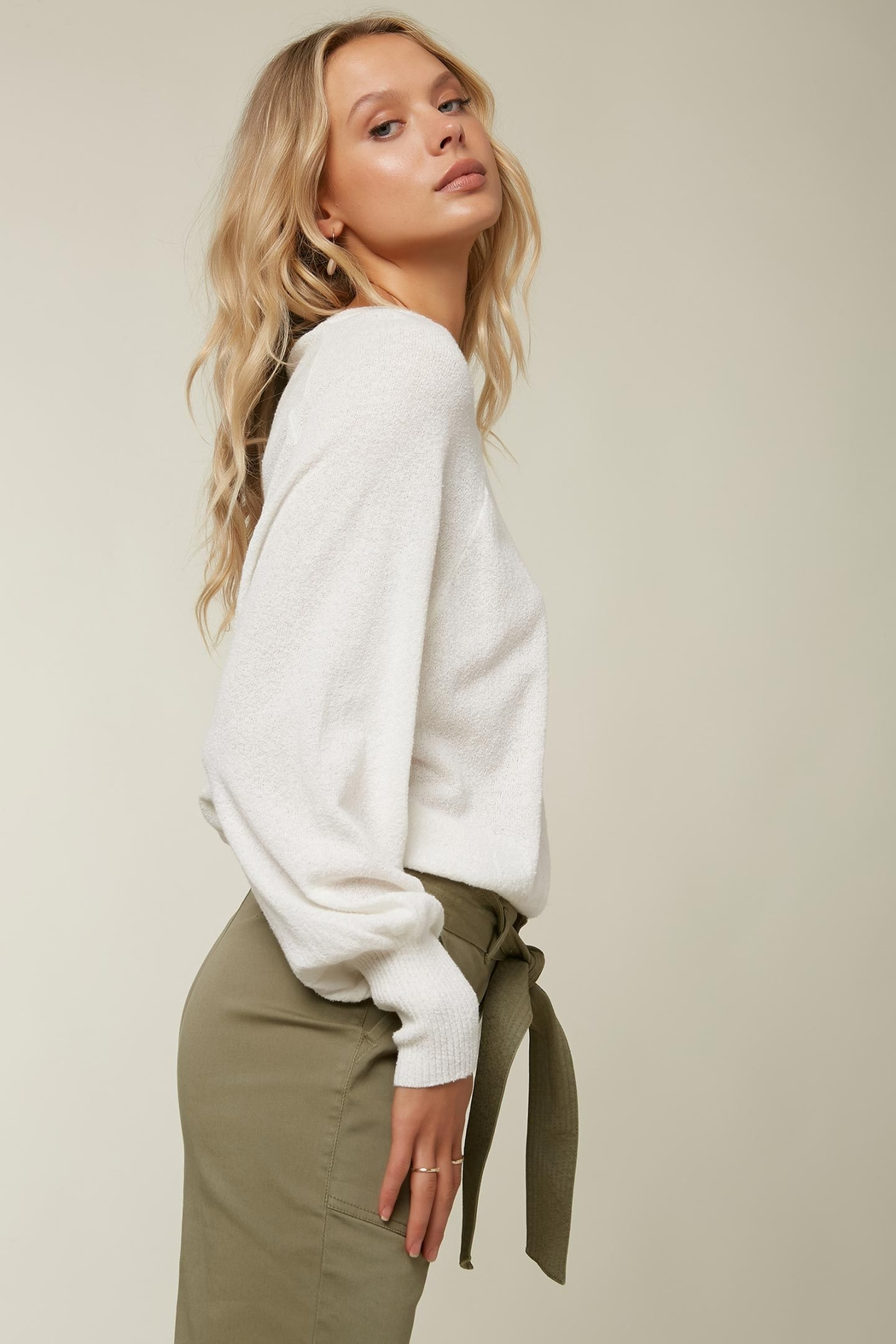 O'Neill Keiki Knit Pullover - Side Cropped Image
