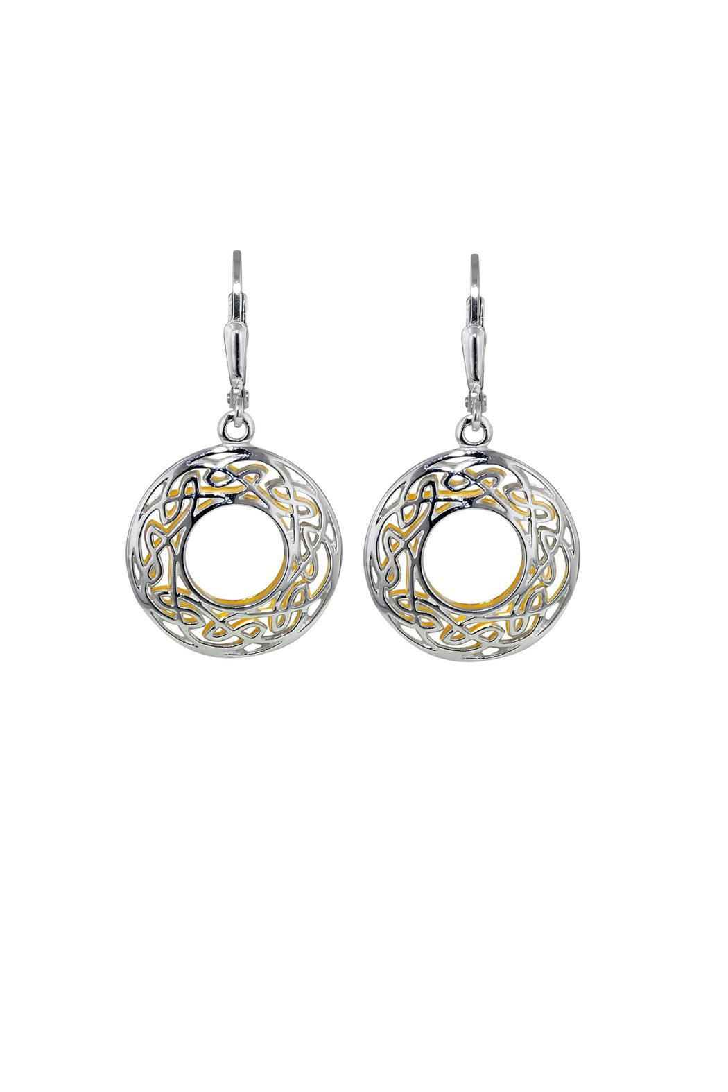 Keith Jack Celtic Window Earrings - Main Image