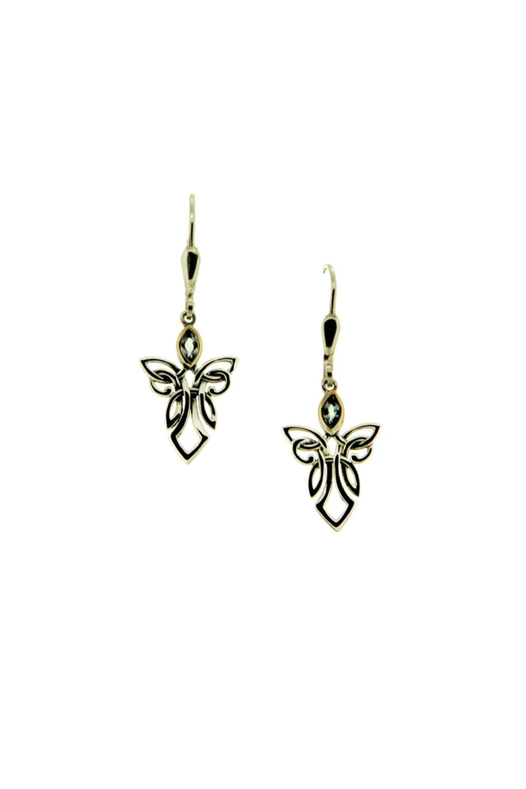 Keith Jack Guardian Angel Earrings - Front Cropped Image