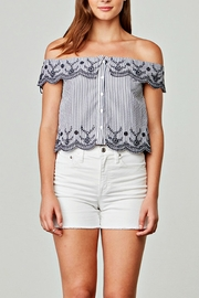 BB Dakota Kelan Striped Top - Product Mini Image